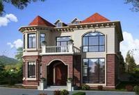 二层160平装配式别墅